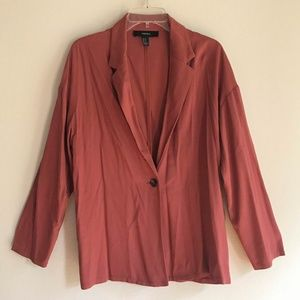 ✨Forever 21 Oversized Blazer in Burnt Orange
